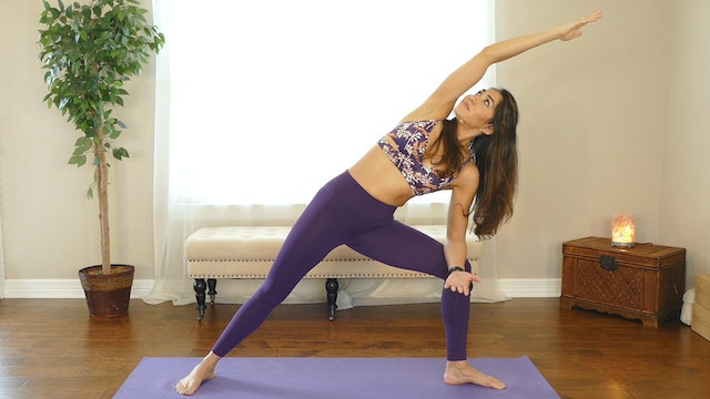 15 Minute Power Yoga for Weight Loss