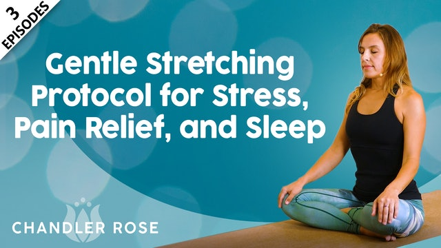 Gentle Stretching Protocol for Stress, Pain Relief, and Sleep with Chandler Rose