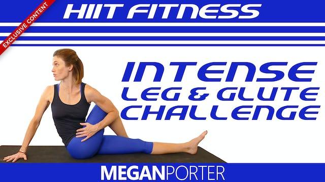 HIIT Fitness Intense Leg & Glute Challenge - Megan Porter