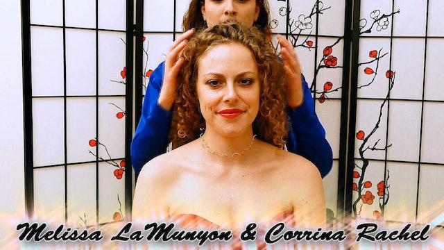 No Talking Scalp Massage with Melissa & Corrina
