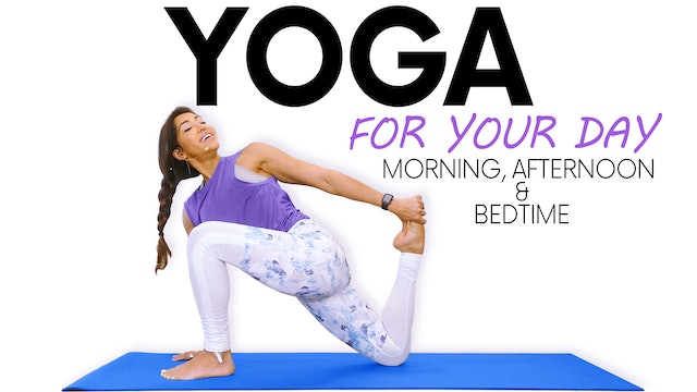 Yoga for Your Day with Myra Shaikh