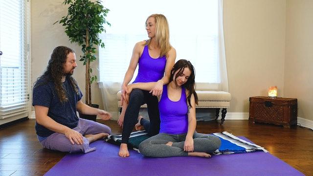 Partner Yoga Massage: Shoulder Tension