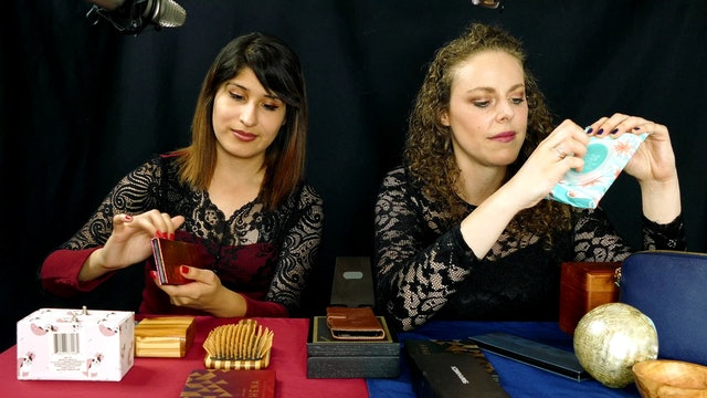Double Tapping ASMR Collab – Corrina Rachel and Lori