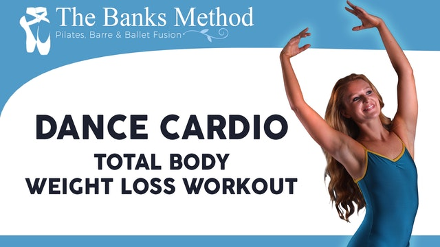 Dance Cardio Total Body Weight Loss Workout | The Banks Method