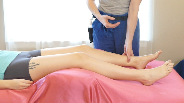 Legs: Trigger Points & Massage for PMS with Jade
