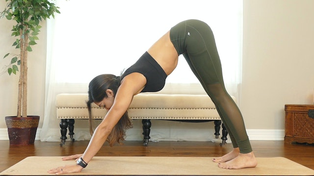 10 Minute Power Yoga- Inner Thighs and Glutes