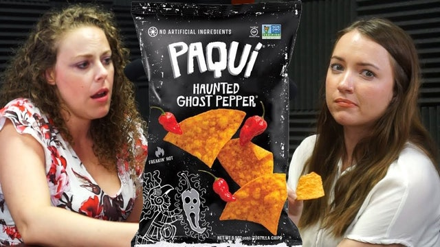 ASMR Hot Chips Eating Sounds