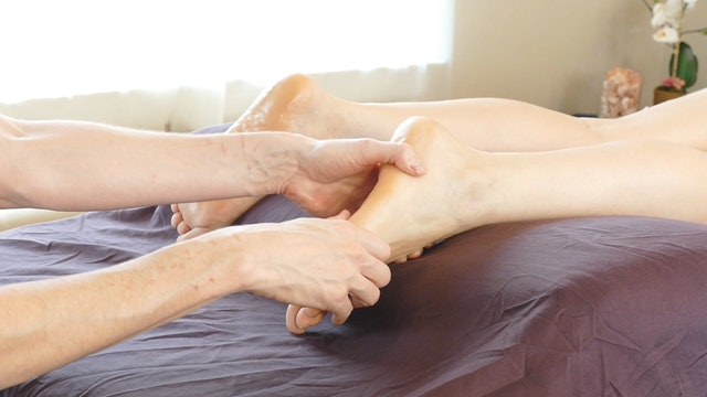 Foot Massage & Soothing Meditation from Jade