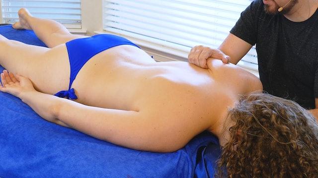 Hand-Saving Back & Shoulder Massage with Robert