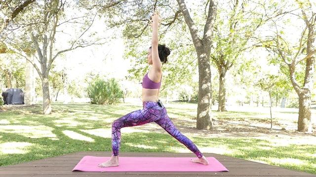 Power Yoga Essentials: Warrior Pose