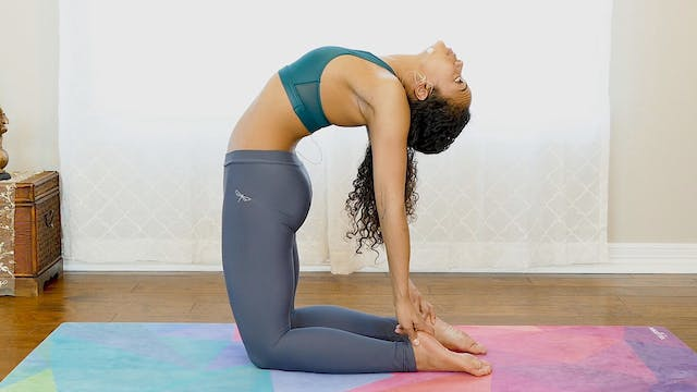 Camel Pose Challenge - Opening The Ba...