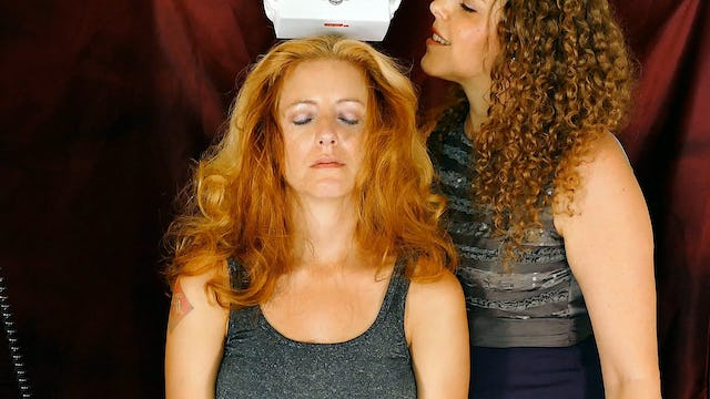 Scalp Massage & Trigger Words, Corrina & Adrienne