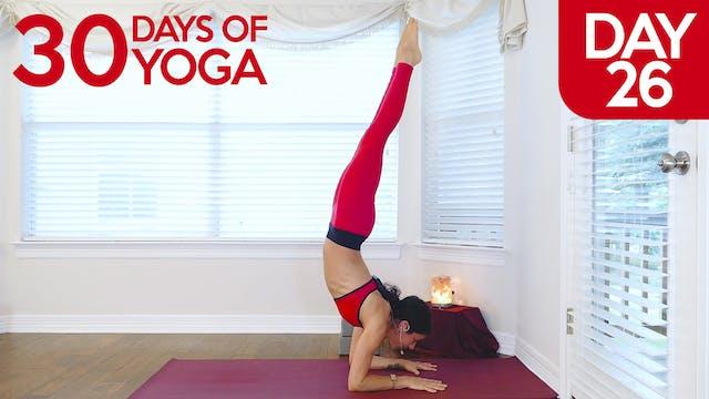 Day 26: Handstand