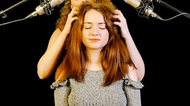 Lucy & Corrina Relaxing Hair Brushing and Whispers