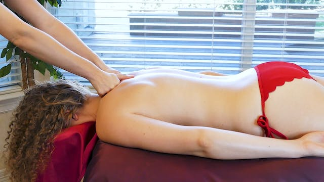 Massage with Meera: More Back Techniq...