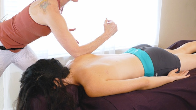 Trigger Point Massage for Shoulders, Jade & Julia