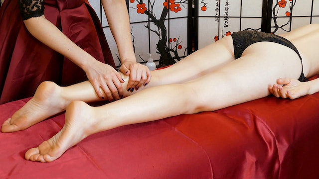 Corrina's Tension Relief Leg Massage with Whispers