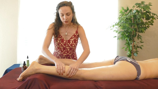 Simple & Effective Leg Massage with Melissa