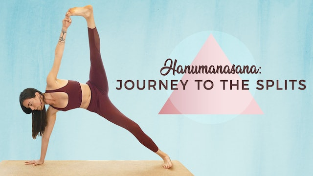 1 Hour Intermediate Flow - Hanumanasana - Journey To The Splits