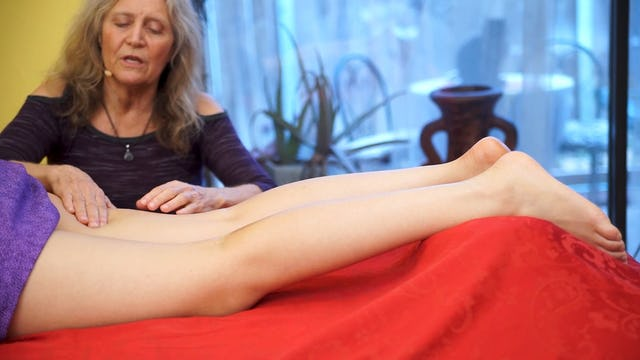 Advanced Leg Massage with Athena: Part 2