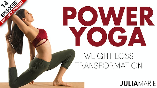 Power Yoga Weight Loss Transformation