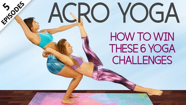Acro Yoga For Beginners With Joy Scola