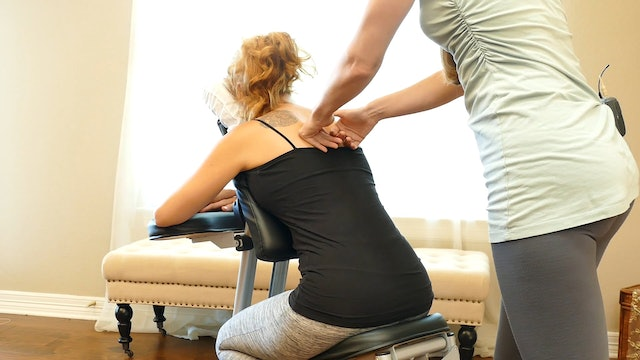 Chair Massage: Meera's Favorite Routine