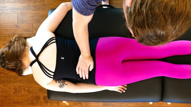 Glute & Hamstring Massage for Low Back Pain