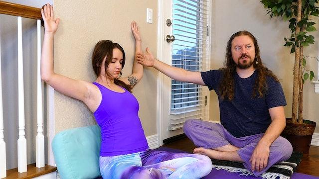 Yoga Massage: Gentle DIY Neck & Shoulder Tension