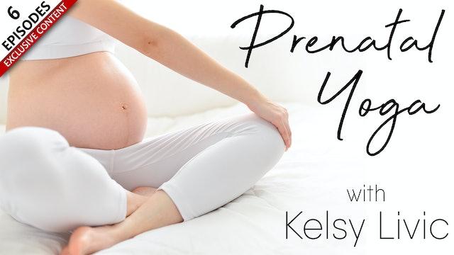 Prenatal Yoga With Kelsy Livic