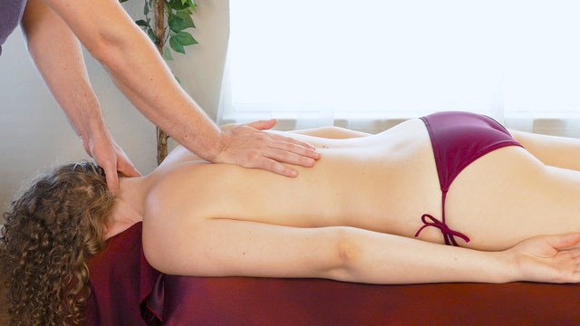 Upper Back Relief Massage with Robert Gardner