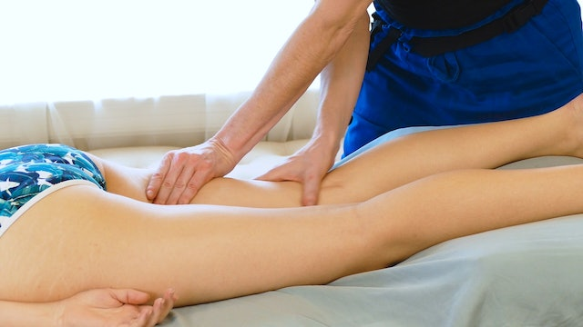 Sports Massage for Legs with Jade