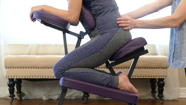 Chair Massage for Hips, Glutes & Legs...