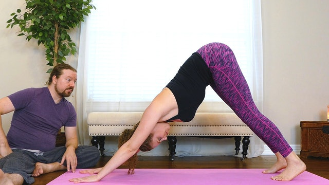 Downward-Facing Dog (Adho Mukha Svanasana