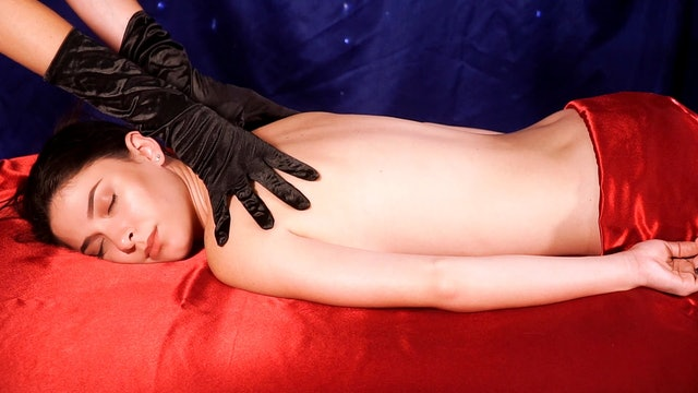 Back Massage Glove Sounds, No Talking