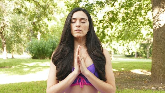Neck Stretches & Meditation