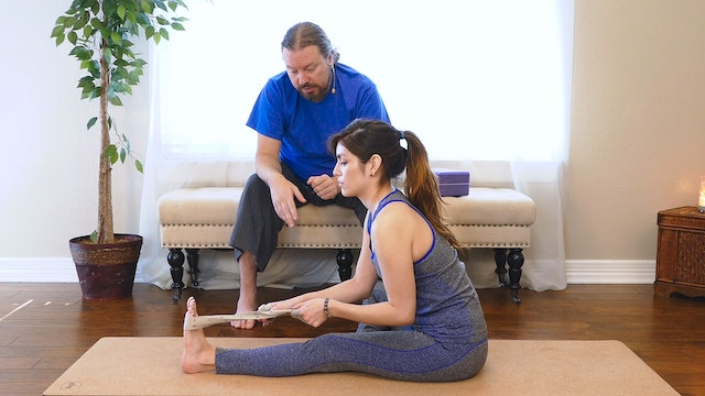 Yoga Massage: How to Work on Your Own Hamstrings!