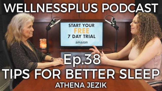 Tips and Tricks for Better Sleep and Stress Relief with Athena Jezik
