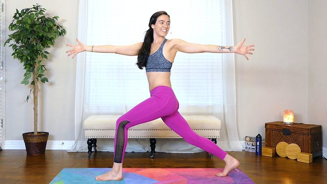 20 Minute Power Yoga; Obliques & Slim...
