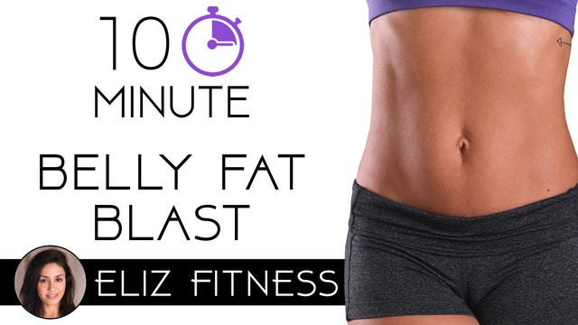 10 Minute Lower Belly Fat Blaster Abs Workout | Eliz Fitness
