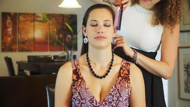 Corrina & Bethany, Hair Brushing & Relaxation Tips