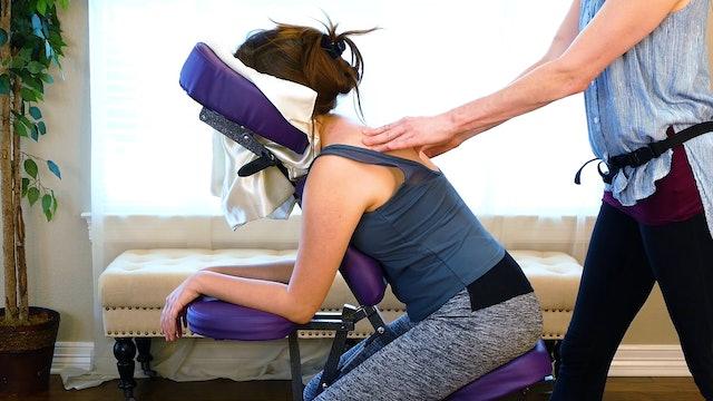 Chair Massage & Relaxing Meditation