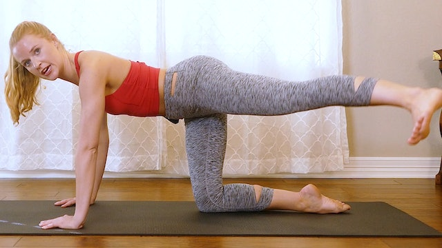 10 Minute Pilates for Thighs & Glutes
