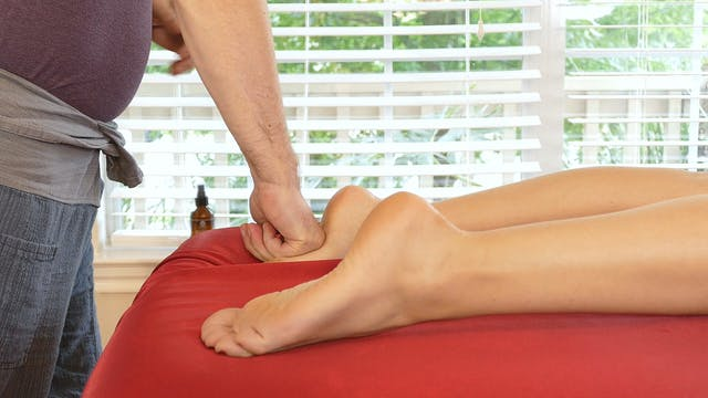 Foot Massage Routine Part 2 with Robert