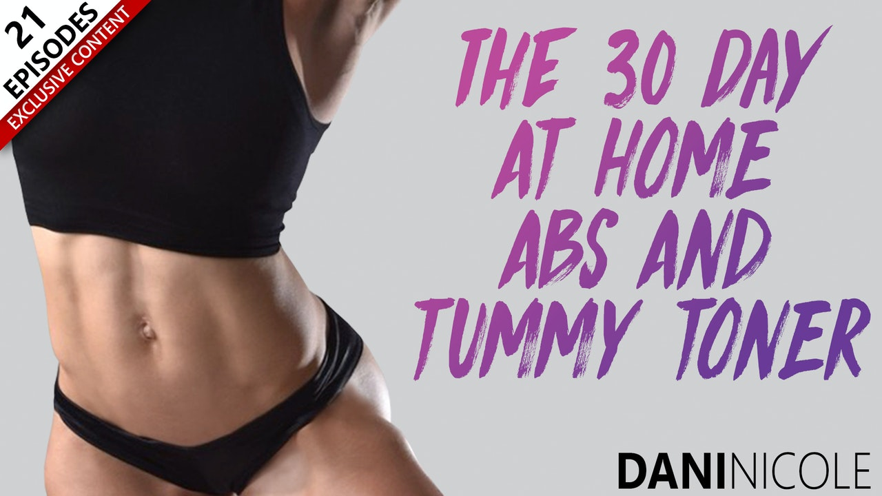 The 30 Day At Home Abs & Tummy Toner