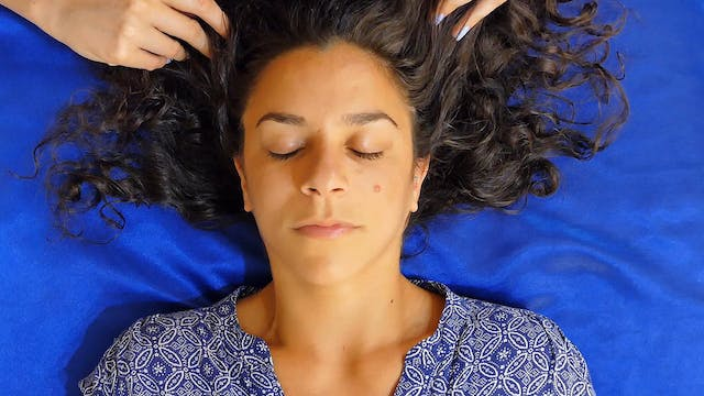 Tingly Scalp Massage for Sleep with C...