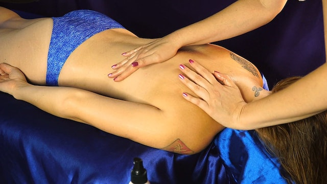 Back Massage Oil Sounds With Adrienne