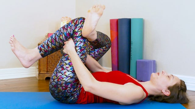 Leg Stretches for Low Back Pain with Melissa