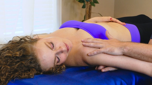 Side Lying Techniques for Upper Back Pain