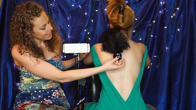 Tickles, Hair Play & Spritzing! Corrina & Adrienne
